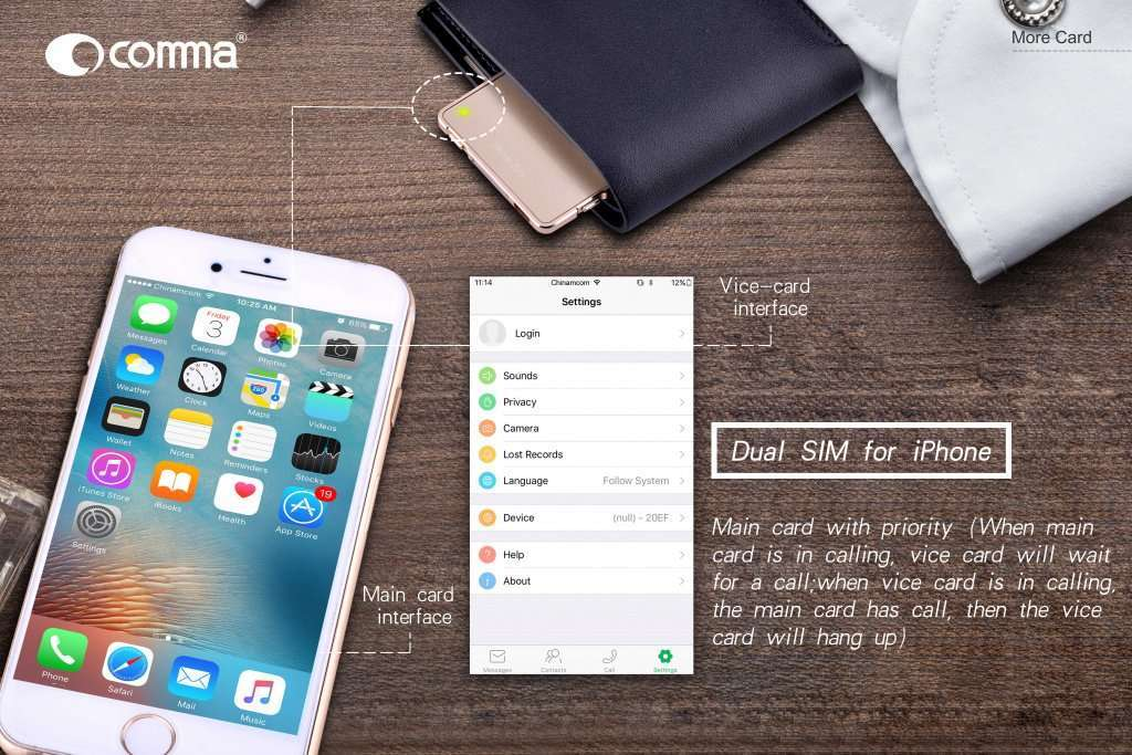 Comma Dual SIM for iPhone poster2.jpg