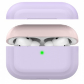 AhaStyle Premium Silicone Two Toned Case for Airpods Pro Lavender/Pink