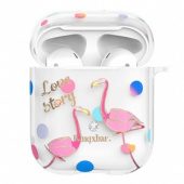 Kingxbar Flamingo Series Case with Swarovski Crystals for Airpods  Vision